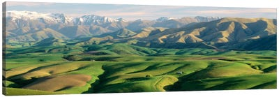 Farmland S Canterbury New Zealand Canvas Print #PIM1292