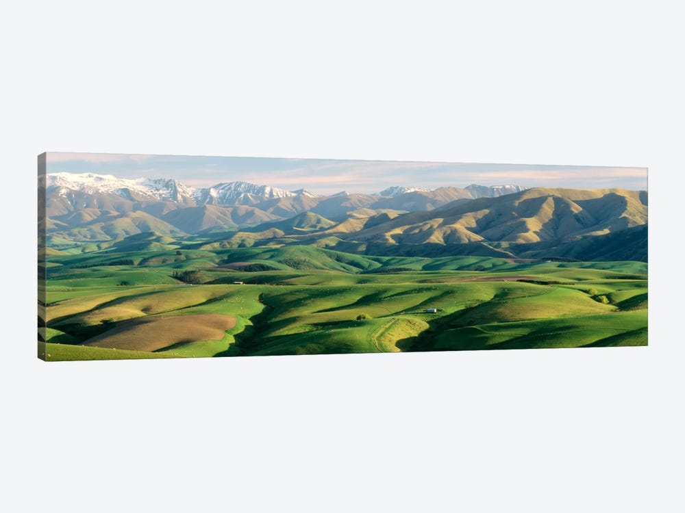 Farmland S Canterbury New Zealand by Panoramic Images 1-piece Canvas Wall Art