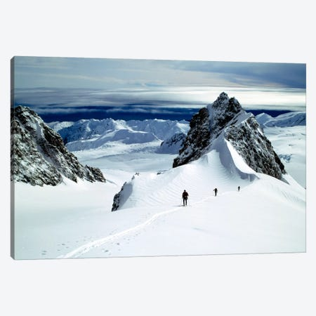 Upper Fox Glacier Westland NP New Zealand Canvas Print #PIM1298} by Panoramic Images Canvas Artwork