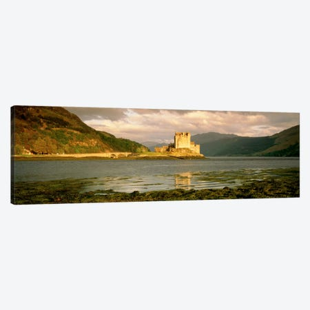 Eilean Donan Castle Highlands Scotland Canvas Print #PIM1299} by Panoramic Images Canvas Wall Art