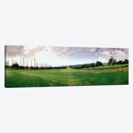 Golf Course Maui HI USA Canvas Print #PIM1301} by Panoramic Images Canvas Art