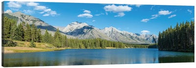 Johnson Lake II, Banff National Park, Alberta, Canada Canvas Print #PIM13023