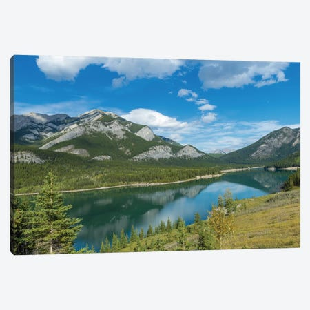 Barrier Lake, Kananaskis Country, Alberta, Canada Canvas Print #PIM13038} by Panoramic Images Canvas Print