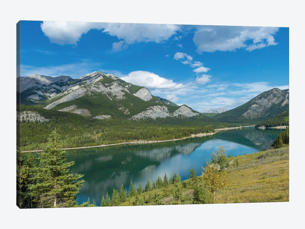 Barrier Lake, Kananaskis Country, Alberta, Canada by Panoramic Images 1-piece Canvas Print