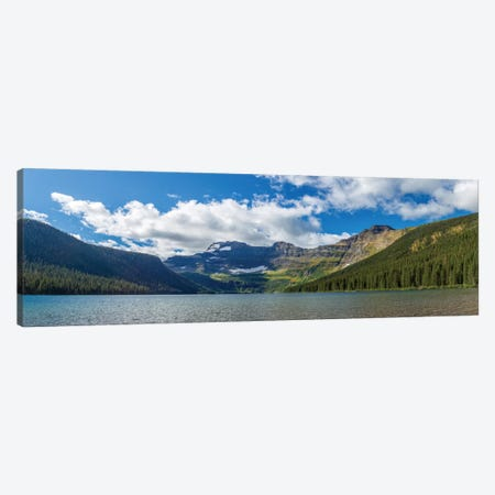 View of Mount Custer from Cameron Lake, Waterton Lakes National Park, Alberta, Canada Canvas Print #PIM13040} by Panoramic Images Canvas Wall Art