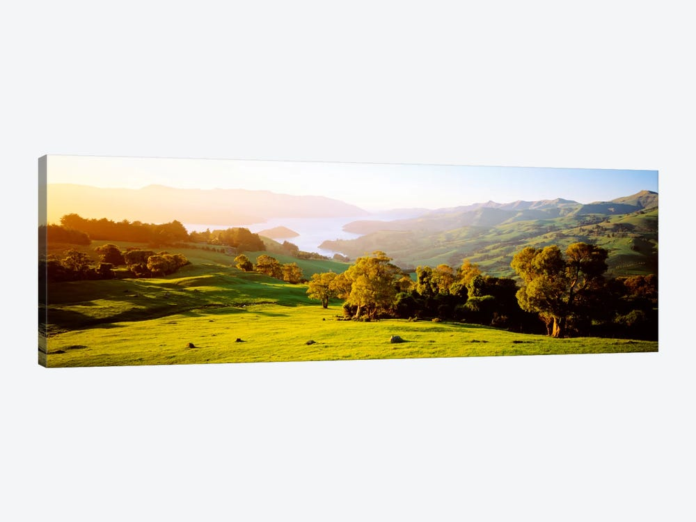 Akaroa Harbor Canterbury New Zealand by Panoramic Images 1-piece Canvas Print