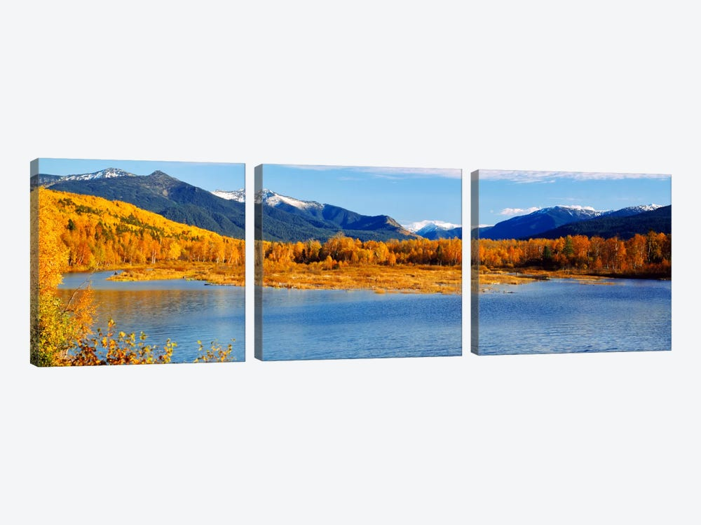 Lake Baikal Siberia Russia by Panoramic Images 3-piece Canvas Artwork