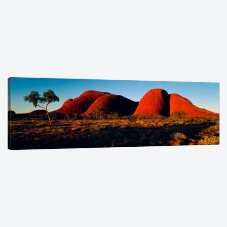 The Olgas N Territory Australia Canvas Print #PIM1312} by Panoramic Images Art Print