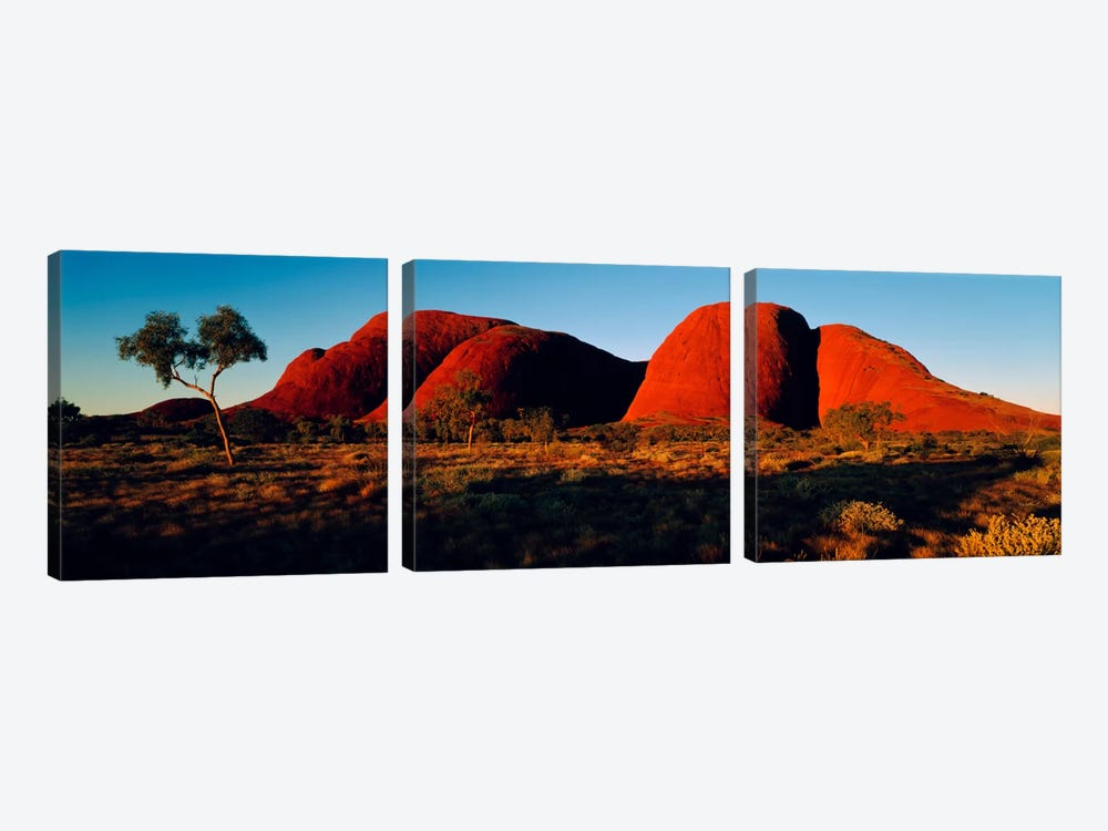 The Olgas N Territory Australia by Panoramic Images 3-piece Art Print
