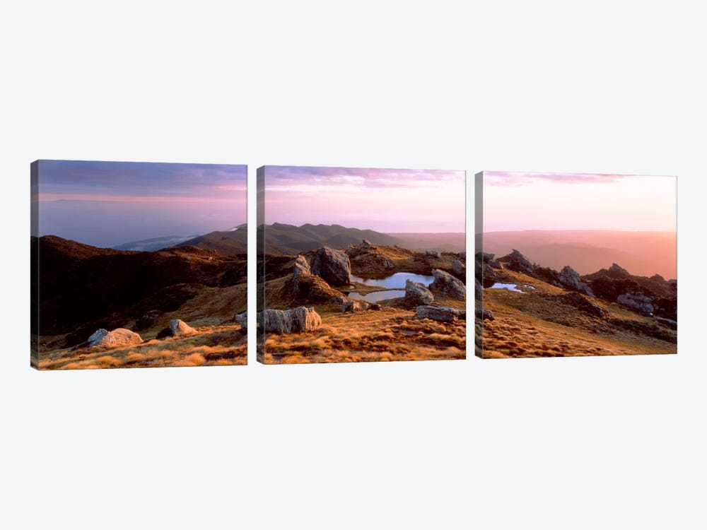 Hump Ridge Fiordland National Park New Zealand by Panoramic Images 3-piece Art Print