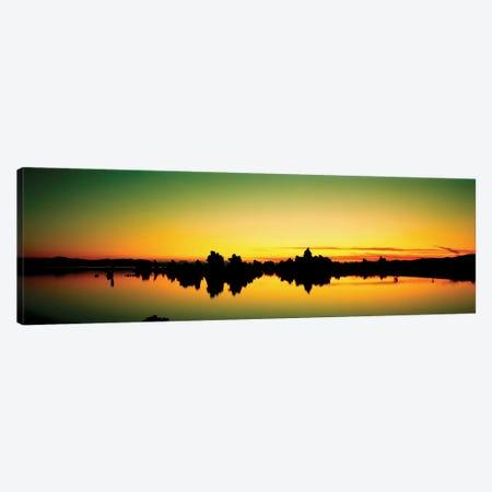 Tufa Towers II, Mono Lake, Mono County, California, USA Canvas Print #PIM13159} by Panoramic Images Canvas Artwork