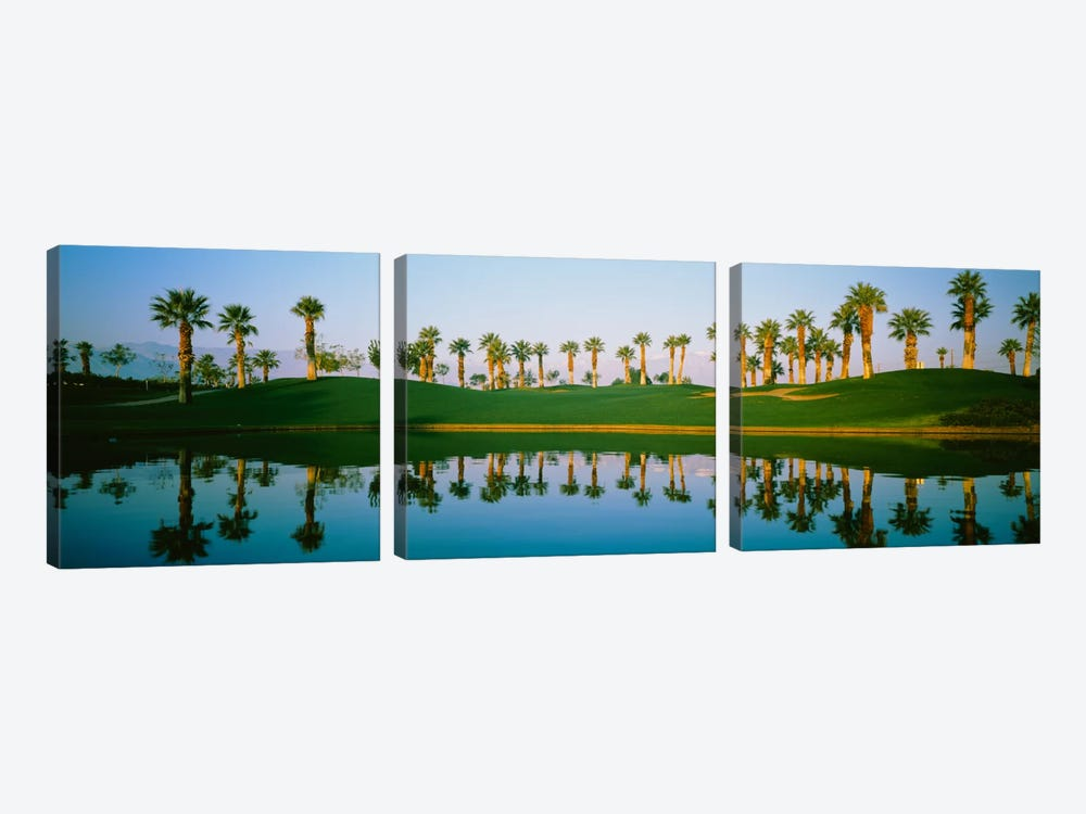 Golf Course MarriotÕs Palms AZ USA by Panoramic Images 3-piece Canvas Artwork