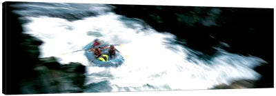 White Water Rafting Salmon River CA USA Canvas Art Print