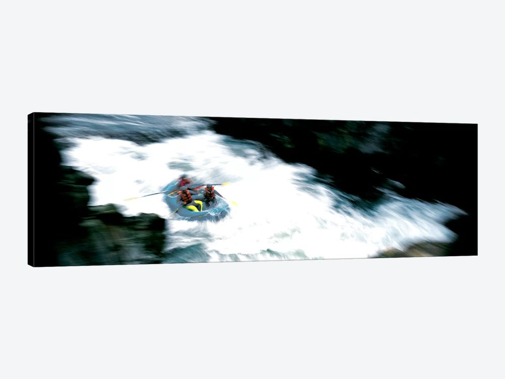 White Water Rafting Salmon River CA USA by Panoramic Images 1-piece Canvas Print