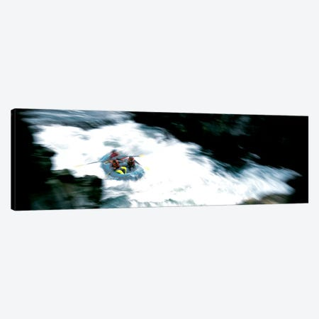 White Water Rafting Salmon River CA USA Canvas Print #PIM131} by Panoramic Images Canvas Art