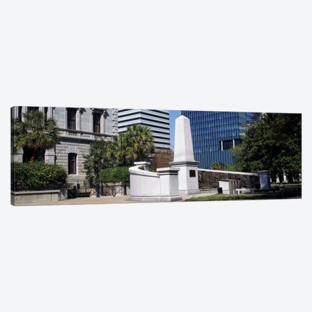 African American History Monument, South Carolina State House, Columbia, South Carolina, USA Canvas Print #PIM13228} by Panoramic Images Canvas Artwork