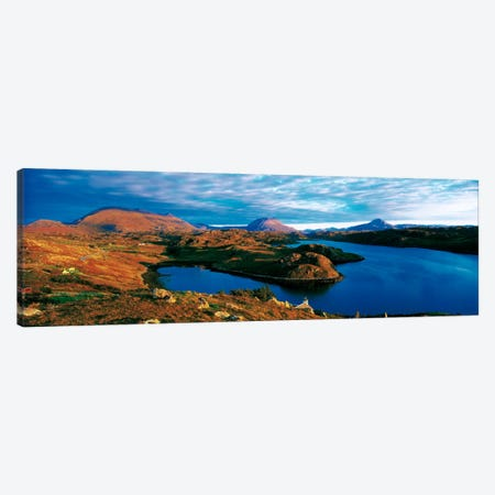 Loch Inchard Sutherland Scotland Canvas Print #PIM1325} by Panoramic Images Art Print