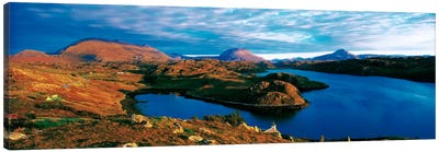 Loch Inchard Sutherland Scotland Canvas Art Print