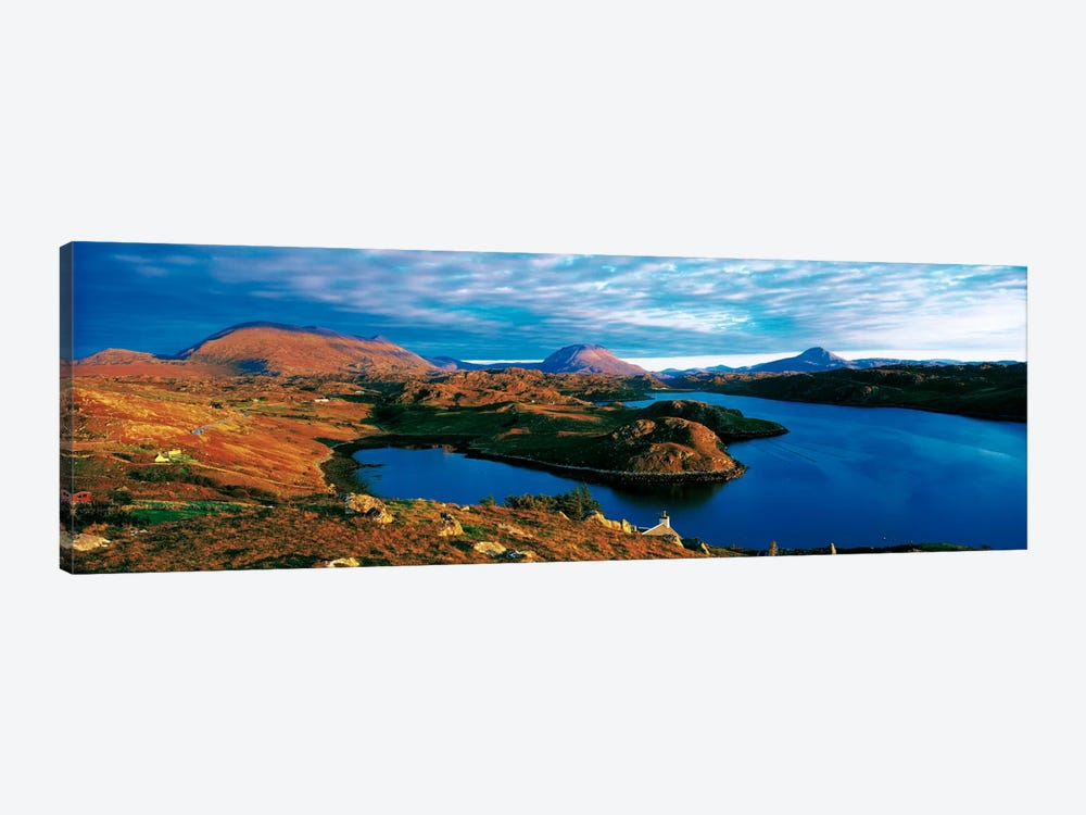 Loch Inchard Sutherland Scotland 1-piece Canvas Art Print