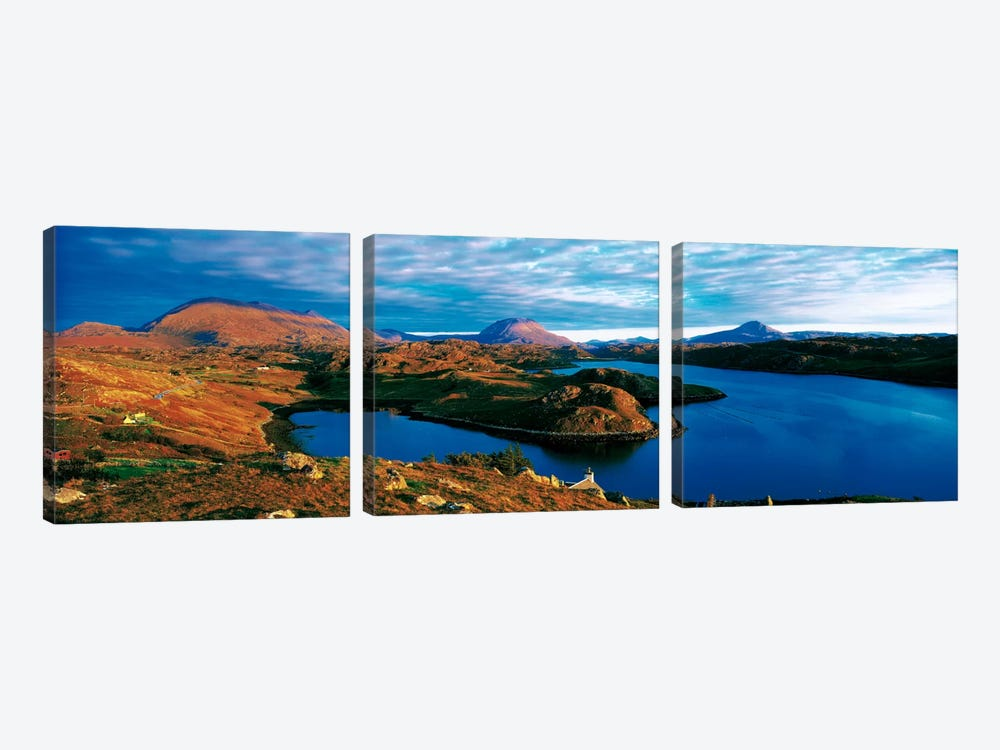 Loch Inchard Sutherland Scotland by Panoramic Images 3-piece Canvas Print