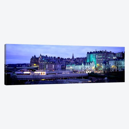 The Old Town Edinburgh Scotland Canvas Print #PIM1326} by Panoramic Images Canvas Art Print