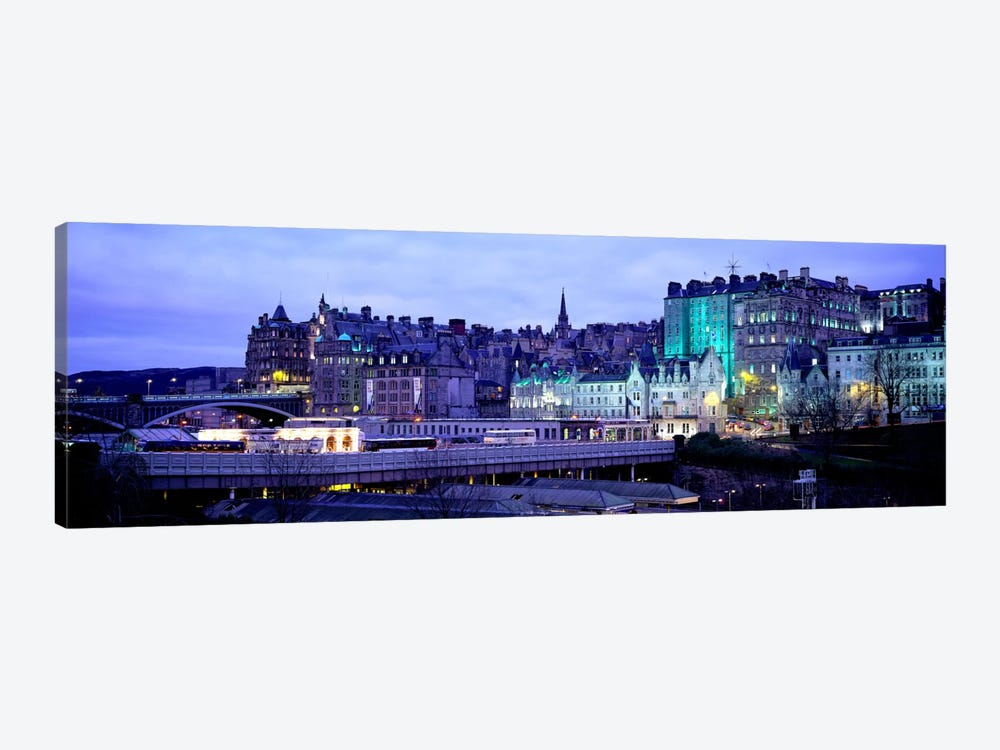 The Old Town Edinburgh Scotland by Panoramic Images 1-piece Canvas Wall Art