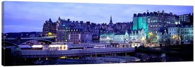 The Old Town Edinburgh Scotland Canvas Art Print