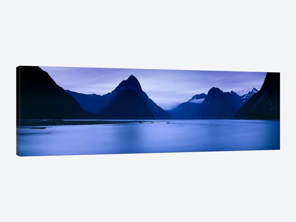 Mountains At Dawn, South Island, New Zealand by Panoramic Images 1-piece Art Print