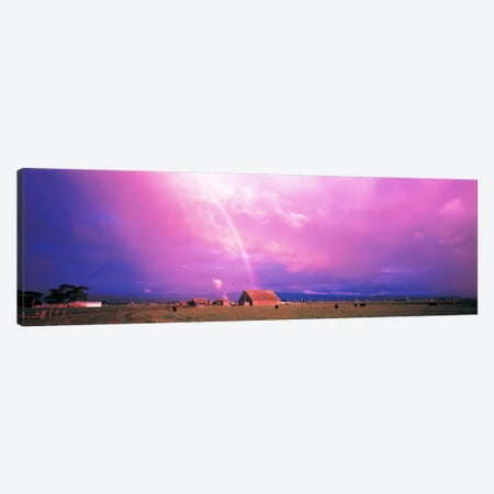 Rainbow Arcata CA USA Canvas Print #PIM132} by Panoramic Images Canvas Art