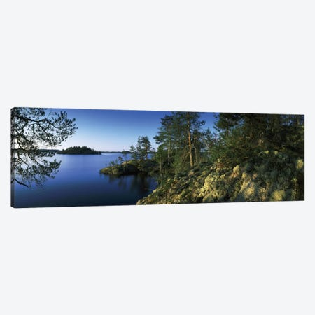 Landscape I, Lake Saimaa, Puumala, Finland Canvas Print #PIM13318} by Panoramic Images Canvas Artwork