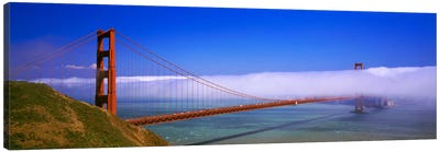 Fog Cloud Over The Golden Gate Bridge, California, USA Canvas Print #PIM1333