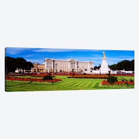Buckingham Palace, City Of Westminster, London, England, United Kingdom Canvas Print #PIM1334} by Panoramic Images Canvas Art
