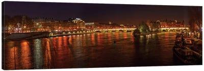 Pont Neuf and Ile de la Cite As Seen From Pont des Arts I, River Seine, Paris, Ile-de-France, France Canvas Print #PIM13350