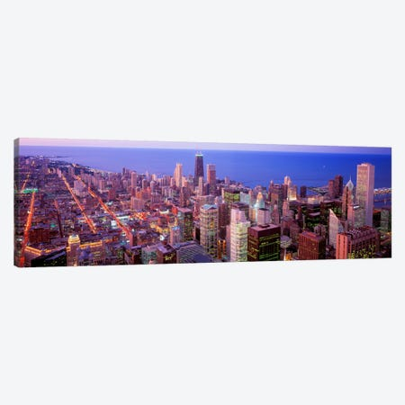 Chicago, Illinois, USA Canvas Print #PIM1335} by Panoramic Images Canvas Art