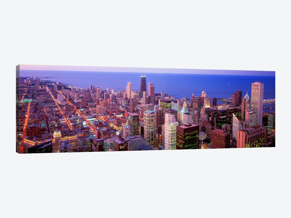 Chicago, Illinois, USA by Panoramic Images 1-piece Canvas Art