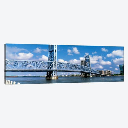 Main Street Bridge, Jacksonville, Florida, USA Canvas Print #PIM1338} by Panoramic Images Canvas Art Print