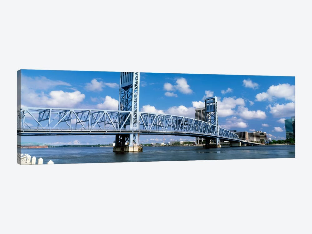 Main Street Bridge, Jacksonville, Florida, USA by Panoramic Images 1-piece Canvas Art Print