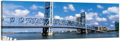 Main Street Bridge, Jacksonville, Florida, USA Canvas Art Print