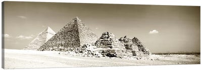 Pyramids Of Giza, Egypt Canvas Print #PIM1339