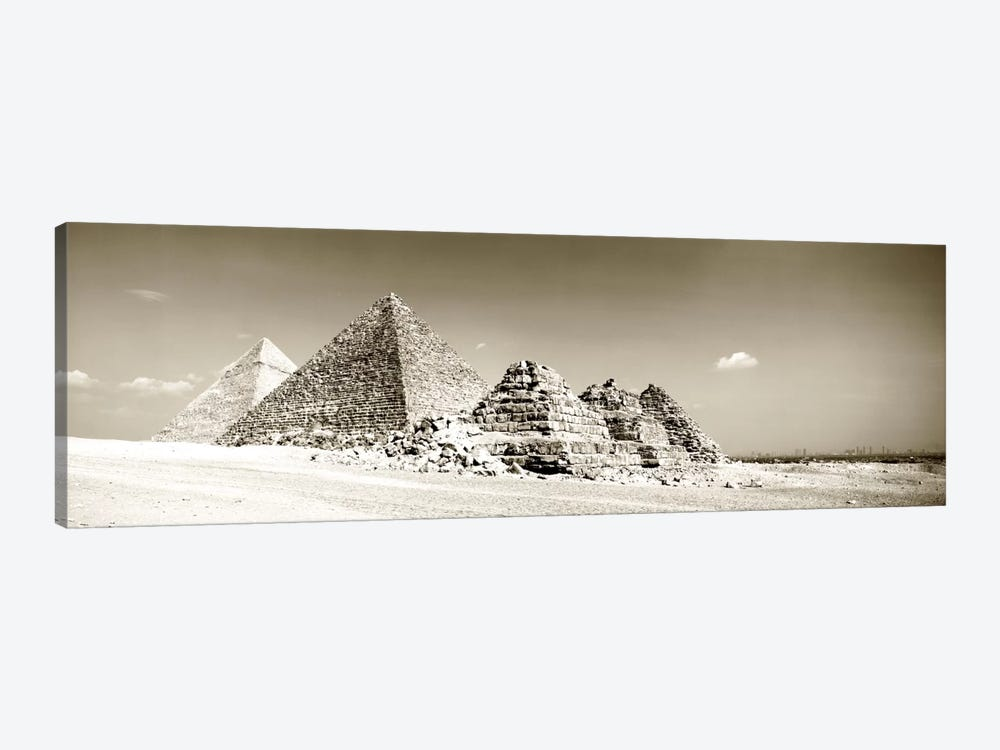 Pyramids Of Giza, Egypt by Panoramic Images 1-piece Canvas Artwork