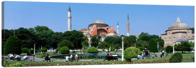 Hagia Sophia, Istanbul, Turkey Canvas Print #PIM133