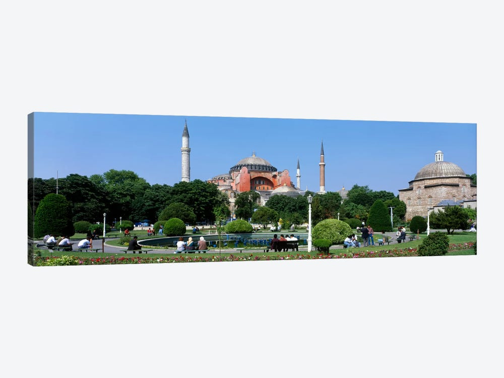 Hagia Sophia, Istanbul, Turkey by Panoramic Images 1-piece Canvas Print
