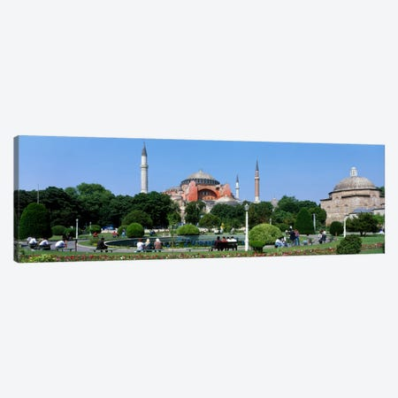 Hagia Sophia, Istanbul, Turkey Canvas Print #PIM133} by Panoramic Images Canvas Art