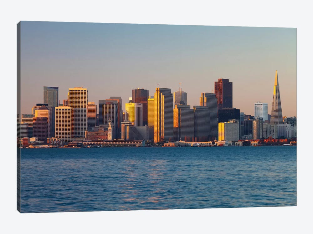 Downtown Skyline At Dusk V, San Francisco, California, USA by Panoramic Images 1-piece Art Print