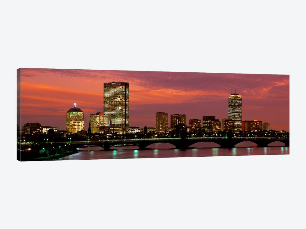 Back Bay, Boston, Massachusetts, USA by Panoramic Images 1-piece Canvas Wall Art