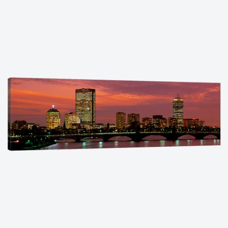 Back Bay, Boston, Massachusetts, USA Canvas Print #PIM1340} by Panoramic Images Canvas Wall Art