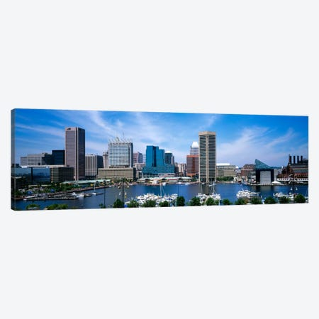 Inner Harbor, Baltimore, Maryland, USA Canvas Print #PIM1341} by Panoramic Images Canvas Art