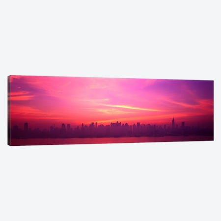 Skyline, NYC, New York City, New York State USA Canvas Print #PIM1345} by Panoramic Images Art Print