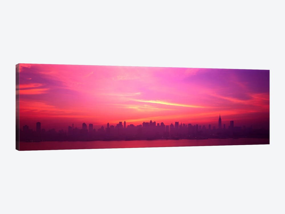 Skyline, NYC, New York City, New York State USA by Panoramic Images 1-piece Canvas Print