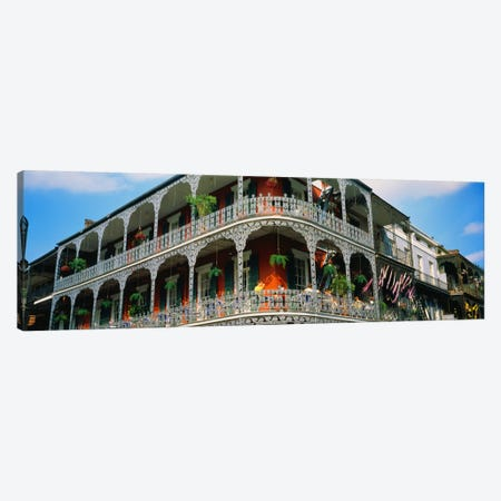 French Quarter New Orleans LA USA Canvas Print #PIM1346} by Panoramic Images Canvas Print